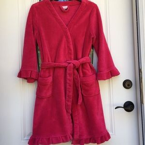 Charlotte Size Small Hot Pink Robe Ex.  Condition